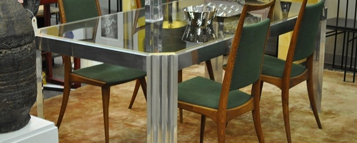 glamorous dining table