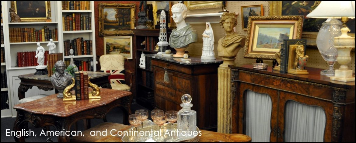 American, English, and Continental Antiques & Art