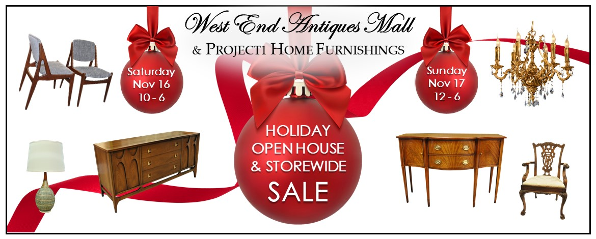 ANNUAL HOLIDAY SALE & OPEN HOUSE NOV 16 & 17